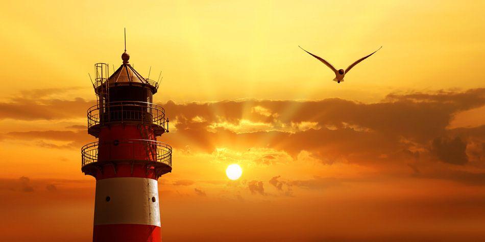 Der Himmel beim Leuchtturm