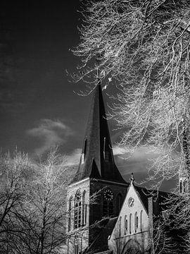 Sint Lambertus kerk Beers #6 van Lex Schulte