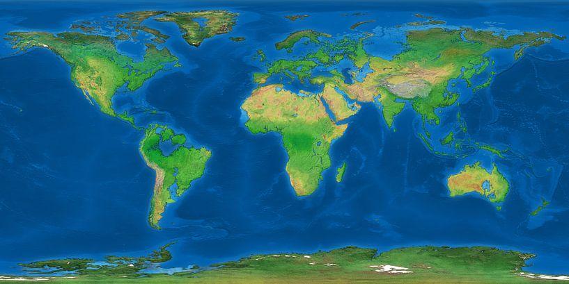 La Terre Noyée sur Frans Blok