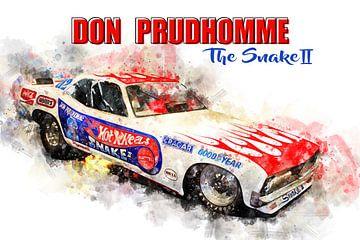 Don Prudhomme, De Slang 2 met titel van Theodor Decker