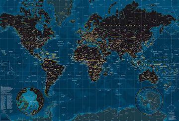 Planisphère Nuit sur