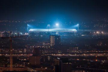 Feyenoord Stadion 'de Kuip' van Niels Dam
