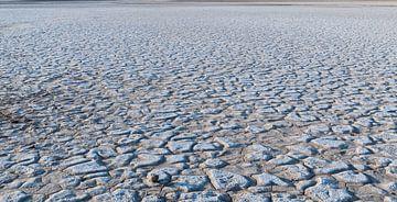 Iran: Zoutvlaktes tussen Yazd en Tabas van Maarten Verhees