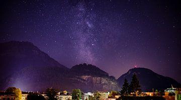 Stansstad bei Nacht von Severin Pomsel