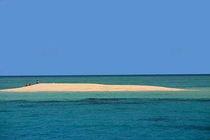 Eilandje in het Great Barrier Reef