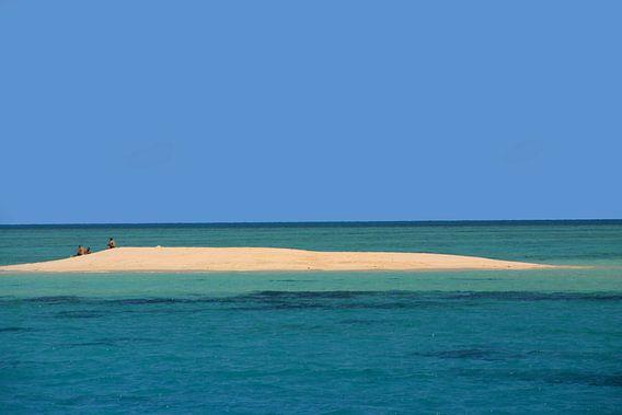 Eilandje in het Great Barrier Reef van Antwan Janssen