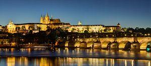 Praag - Karelsbrug van