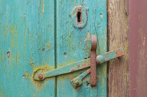 Oude deurklink