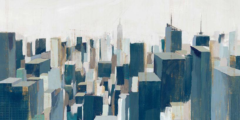 De stad, Isabelle Z  van PI Creative Art
