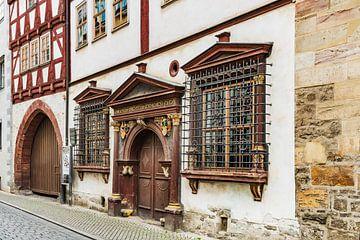 Haus zum Güldenen Krönbacken in Erfurt,  Deutschland von Gunter Kirsch