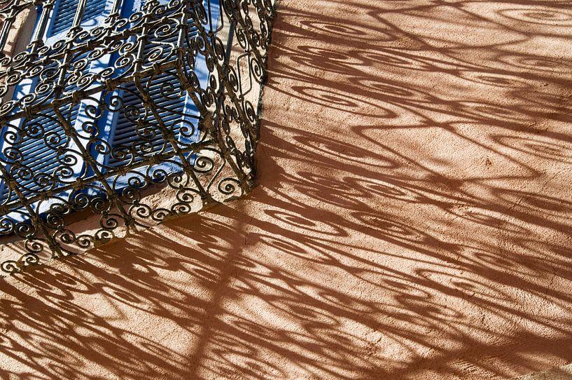 Balkon Marrakech van Keesnan Dogger Fotografie