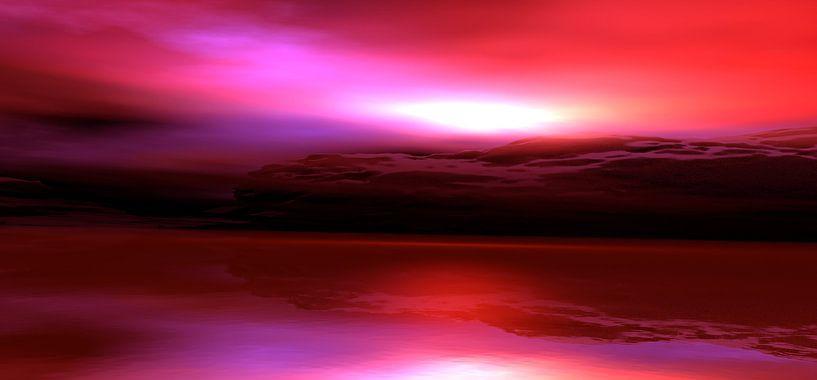 Crépuscule Rouge van Angel Estevez