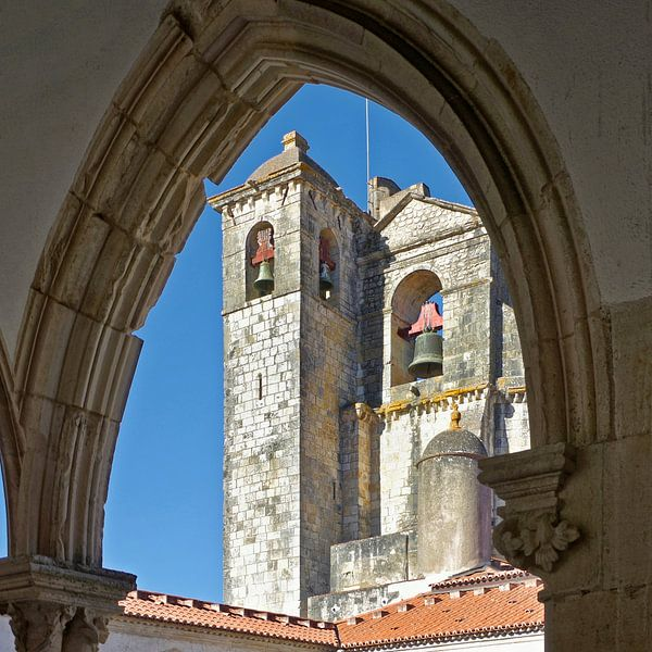 Portugal: de kerk van de Tempeliers in Tomar van Berthold Werner