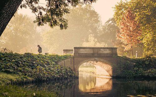 Herfstochtend in het Stadspark van Kampen