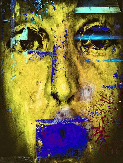 The blue clothed mouth van Gabi Hampe