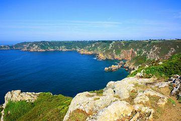 Guernsey's south coast van Gisela Scheffbuch