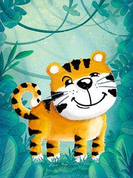 Tiger im Dschungel von Stefan Lohr