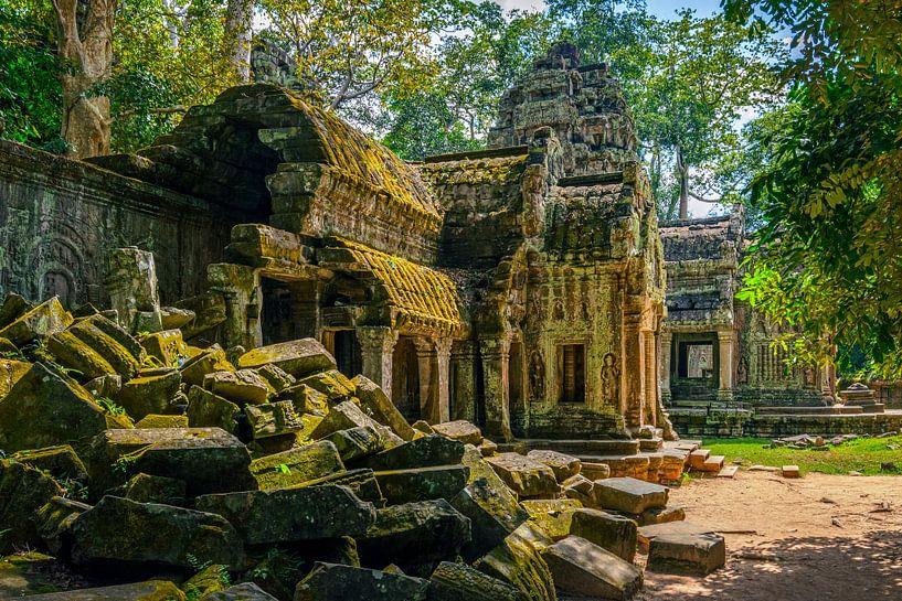 Jungle temple van Richard Guijt Photography
