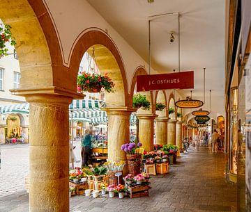 Prinzipalmarkt, Arkaden, Münster, Stadt, Westfalen von Torsten Krüger
