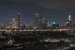 De Wilhelminapier in Rotterdam