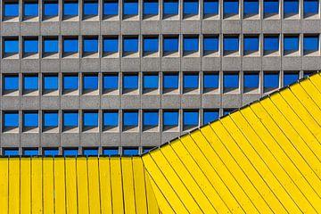 Balustrade en ramen  van Rinus Lasschuyt Fotografie