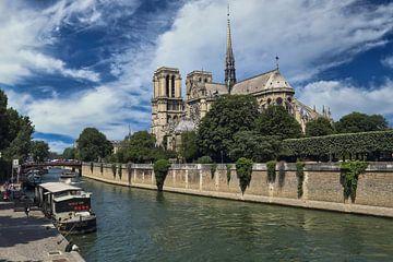 Notre Dame kathedraal in Parijs van Jan Kranendonk