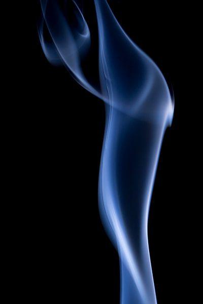 Blue Long Smoke. van Robert Wiggers
