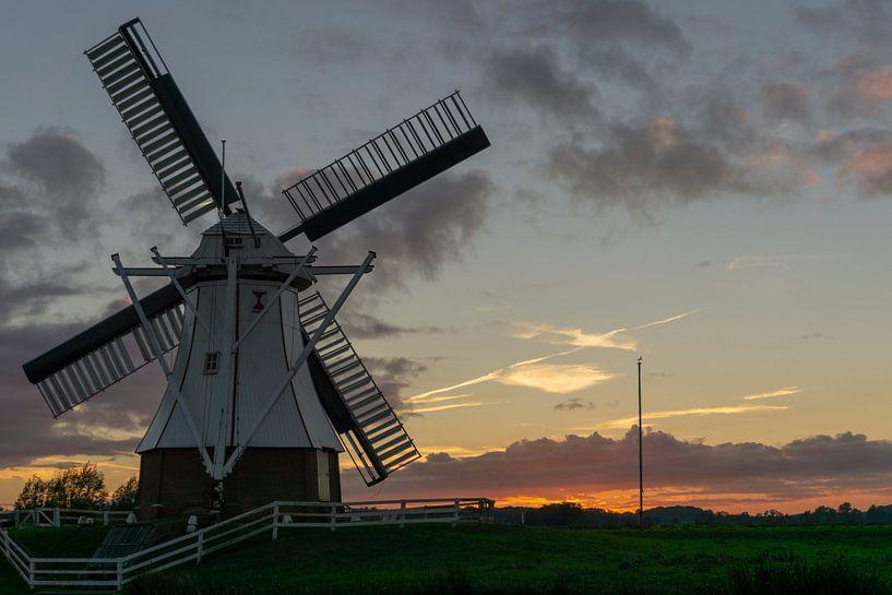 Die weiße Mühle von Anjo ten Kate