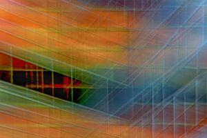 Colored wall #3 van Ruud de Soet