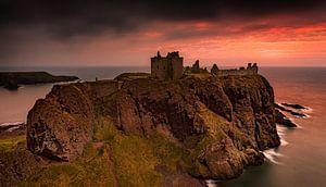 Dunnottar Castle Schotland van