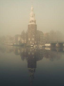 Montelbaans toren in de mist #1