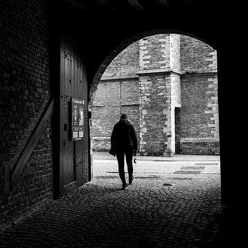 Einsamer Wanderer von Mister Moret Photography