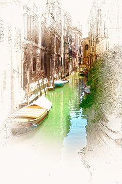 Venetië 08 van Erich Krätschmer