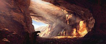 Dans le canyon sur Rocky Schouten