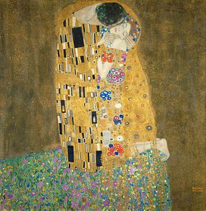 De Kus van Gustav Klimt van