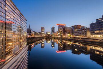 Medienhafen Düsseldorf von Michael Valjak