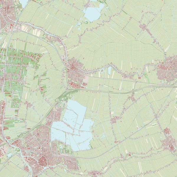 Kaart vanBodegraven-Reeuwijk sur Rebel Ontwerp