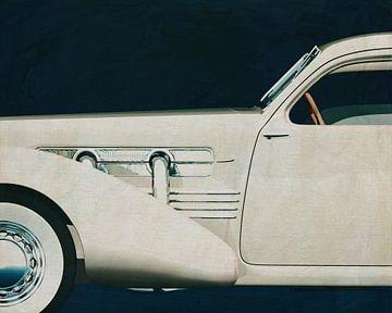 Cord 812 Sedan 1936 Schilderij