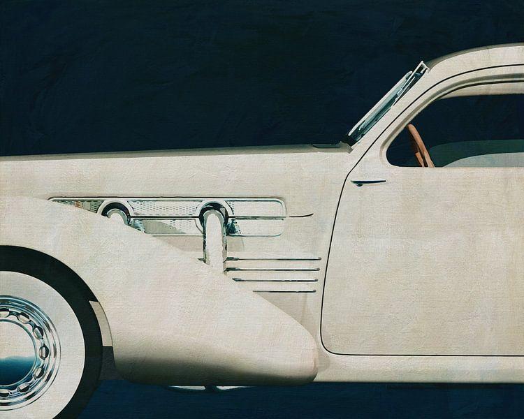 Cord 812 Sedan 1936 Schilderij van Jan Keteleer