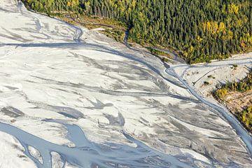 Matanuska-Fluss in Alaska von Nathan Marcusse
