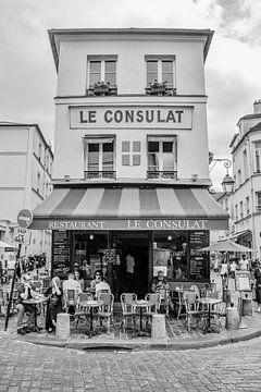 Restaurant Le Consulat in Montmartre, Paris von Bianca Kramer