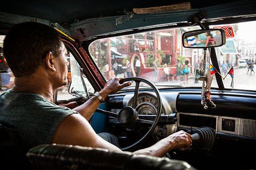 Havana taxi van