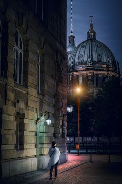 Berlin Nightwalk von Iman Azizi