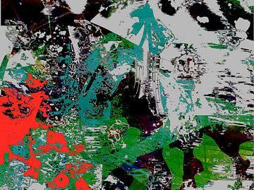 Abstraktes 203 van Peter Norden