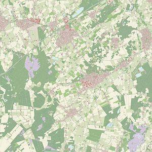 Kaart vanBergeijk van
