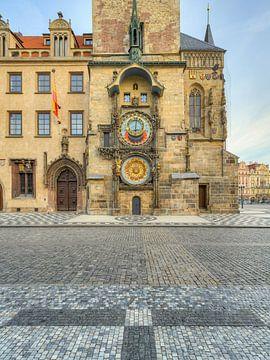 Horloge de l'hôtel de ville de Prague