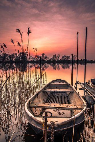 De eenzame boot van