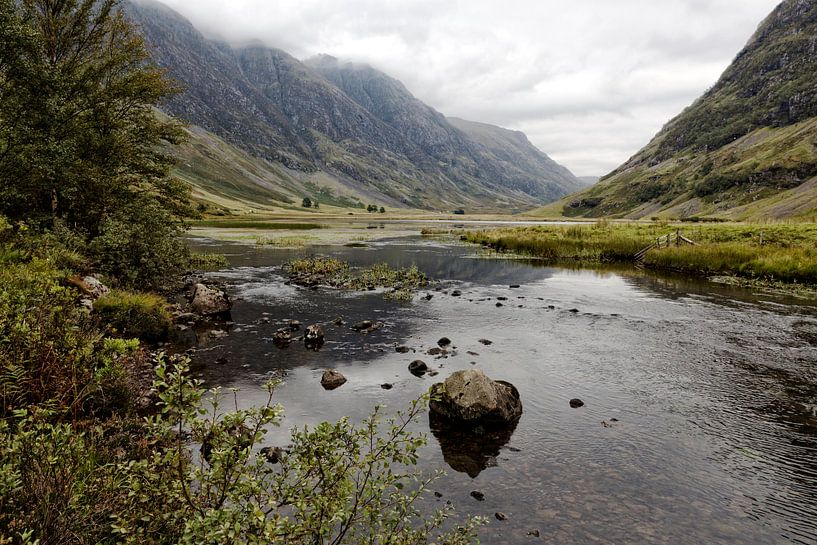 Loch Achtriochtan van Ab Wubben