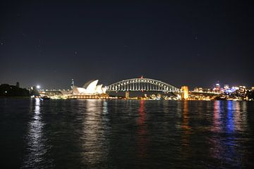 Sydney by night van