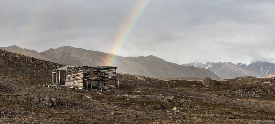 Regenboog uit hut